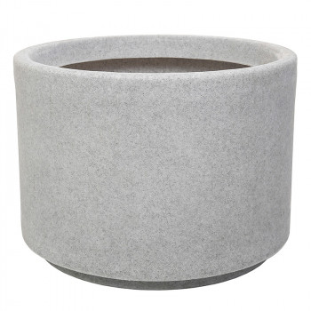 Декоративный горшок под бетон Ø400x305 BLUES ROTO светло-серый