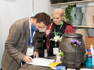 ТД Марсел на сентябрьской выставке Цветы Экспо 2020