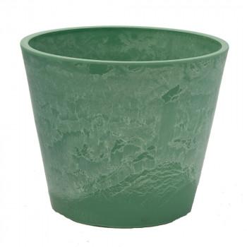 Горшок для цветов зеленая трава 31x25,4 GreenShip